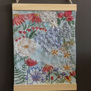 *NEW* Summer Garden Embroidery Panel additional 4