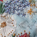 *NEW* Summer Garden Embroidery Panel additional 10
