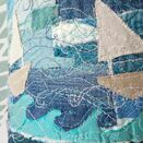 Stormy Seas Embroidered Lampshade additional 3