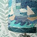 Stormy Seas Embroidered Lampshade additional 4