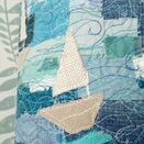 Stormy Seas Embroidered Lampshade additional 5