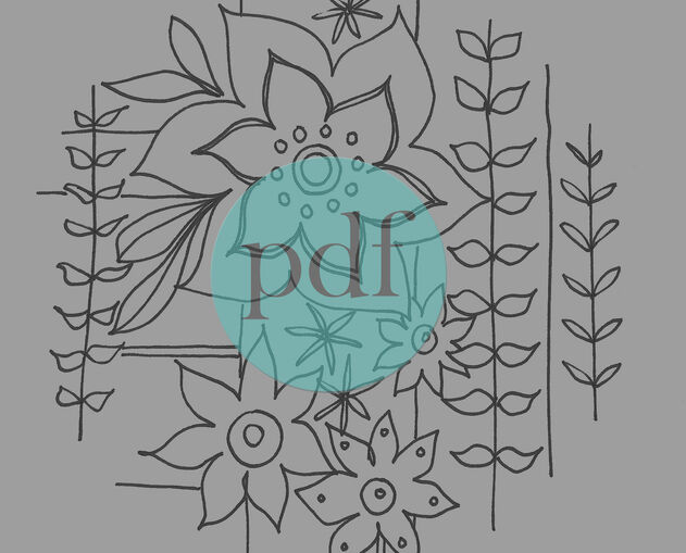 Botanical Embroidery Designs
