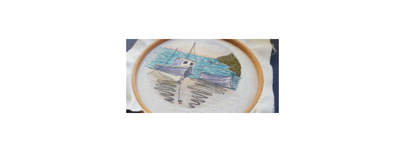A beginners guide to Freehand machine embroidery