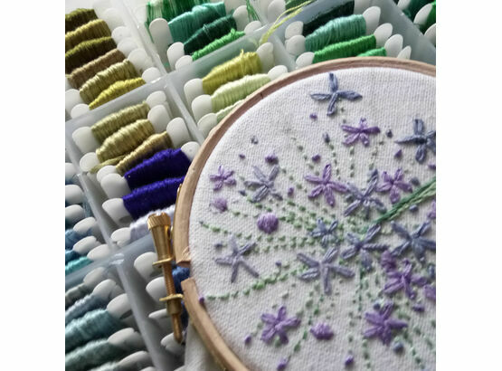 Contemporary Hand Embroidery 30th March