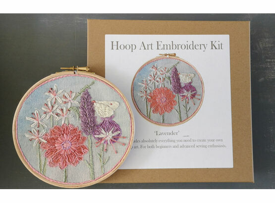 *NEW* Lavender Hand Embroidery Kit