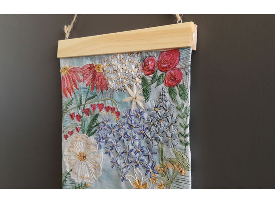 *NEW* Summer Garden Embroidery Panel