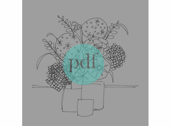Still Life \'Vases of Flowers\' PDF Embroidery Pattern