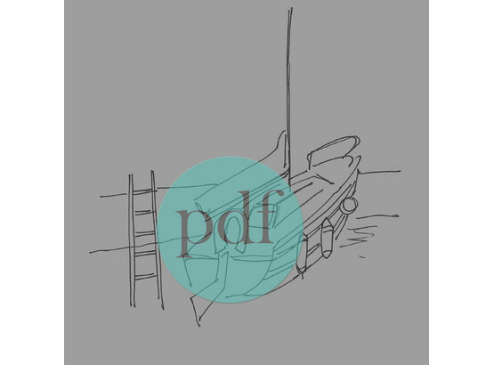 'Kingsbridge Pontoon' PDF Embroidery Pattern